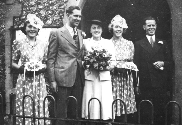 Hoffmann-Attrill wedding 24.7.1940