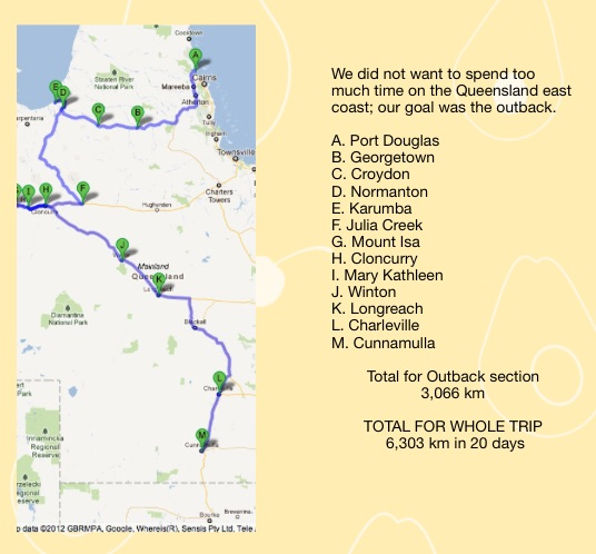 Qld route