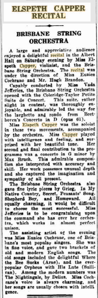 E.Capper recital with BSO