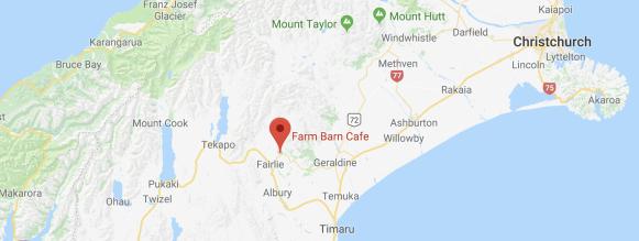Farm Barn cafe map